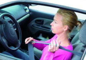 Какой штраф за не пристегнутый ремень безопасности у водителя?