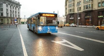 Штраф за езду по автобусной полосе в 2020 году
