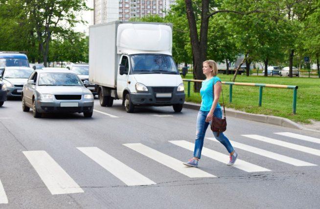 Штраф за непропуск пешехода 2020 году