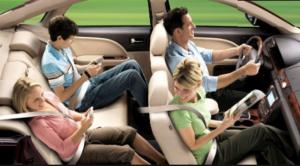 Заднее сиденье – нужно ли пристегнуться?