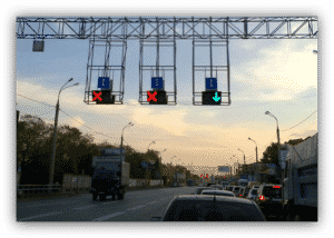 На дорогах с реверсивным движением